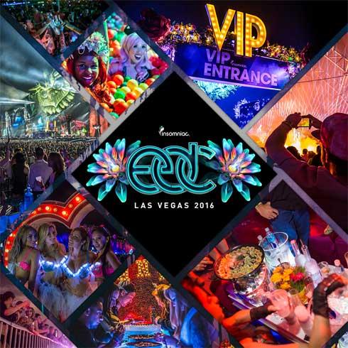 EDC Las Vegas 2016 VIP Experience