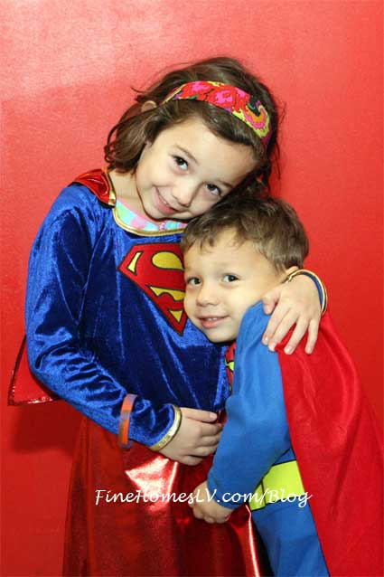 Children Superman Costume