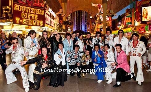 Elvis Parade on Fremont Street Experience