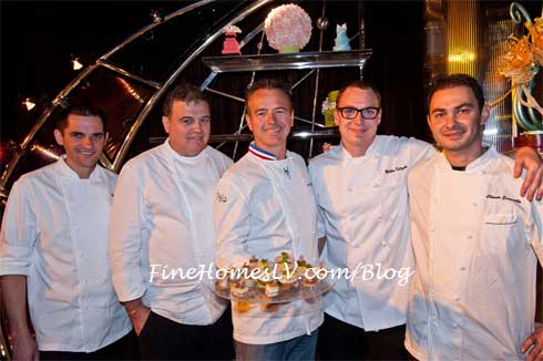 Chef Jean Philippe Maury and ARIA Chefs