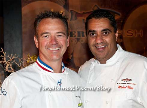 Chef Jean Philippe Maury and Chef Michael Mina