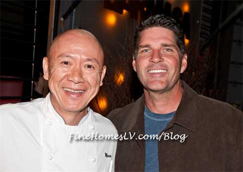 Chef Masa Takayama and Bill McBeath