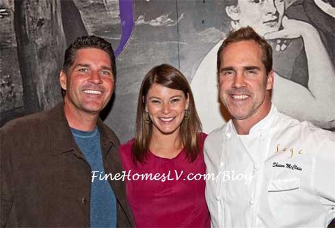 Bill McBeath, Gail Simmons and Shawn McClain