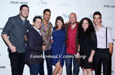 Gail Simmons and Top Chef Contestants