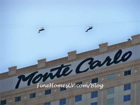 Zipline at Monte Carlo