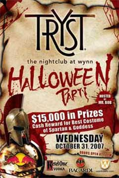 Tryst Halloween Party