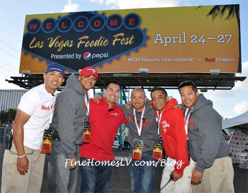 Las Vegas Foodie Fest Red Dragon