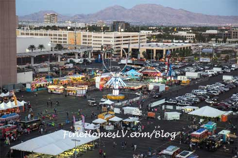 Las Vegas Foodie Fest At The LINQ
