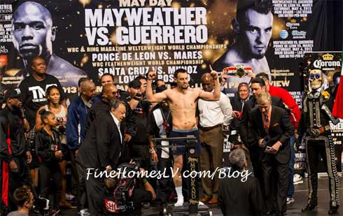 Robert Guerrero Weigh In