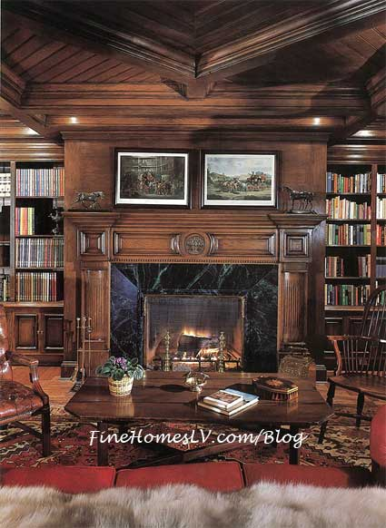 Neverland Ranch Library