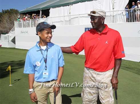Michael Jordan and Marc Garcia