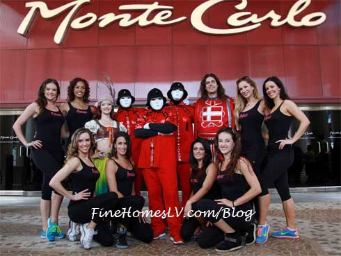 Jabbawockeez and Fantasy at Monte Carlo