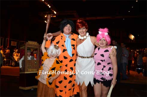 Fred Flinstone Family