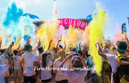 The Color Run Color Powder