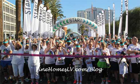 The Color Run Starting Line