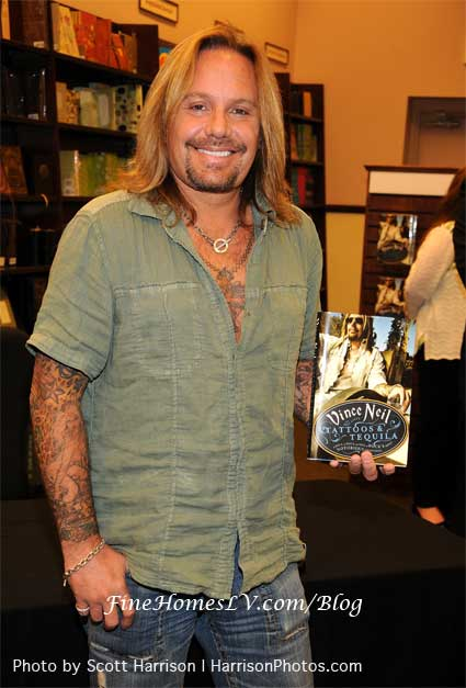 Vince Neil Book Photo