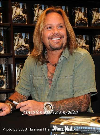 Vince Neil Book Signing