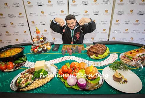 Adam Richman at Press Conference