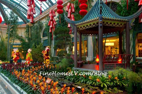 Chinese New Year At The Bellagio Conservatory