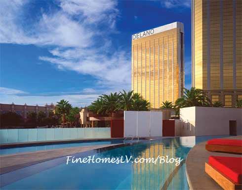 Delano Las Vegas Hotel Exterior