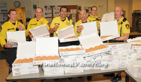 LVMPD With Krispy Kreme Doughnuts