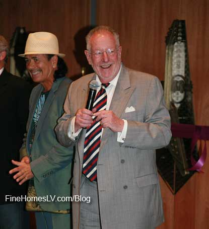 Carlos Santana and Oscar Goodman