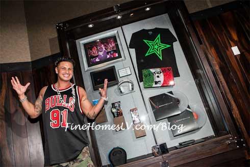 DJ Pauly D Memorabilia Case