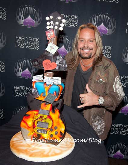 Vince Neil Birthday Cake