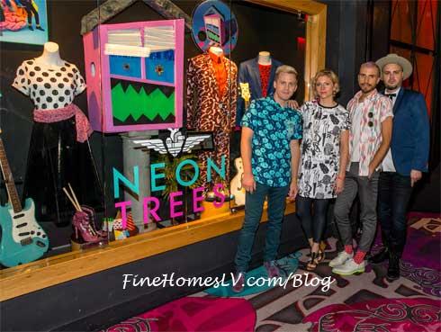 Neon Trees With Memorabilia Case