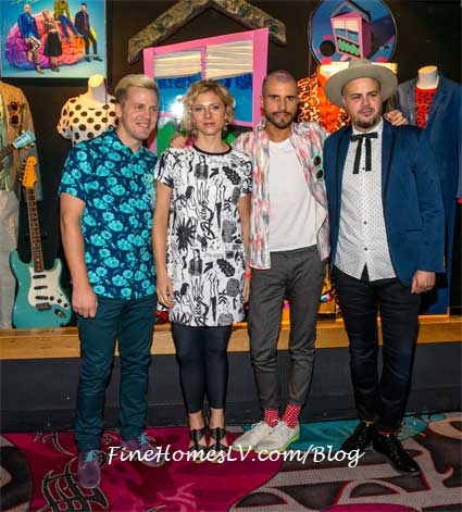 Neon Trees Memorabilia Case Photo