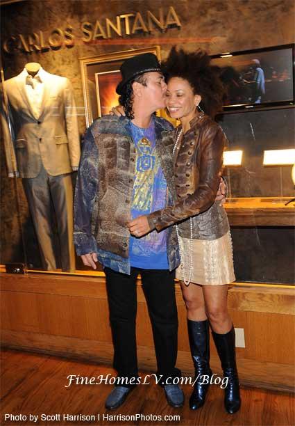 Carlos Santana and Cindy Blackman