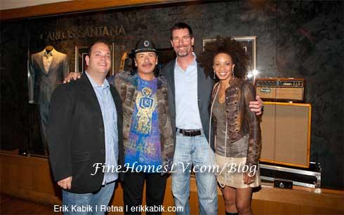 Carlos Santana, Cindy Blackman, AEG and HRH