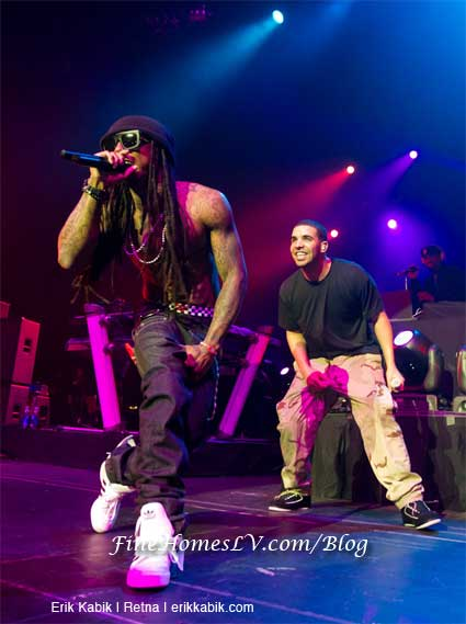 Lil Wayne and Drake