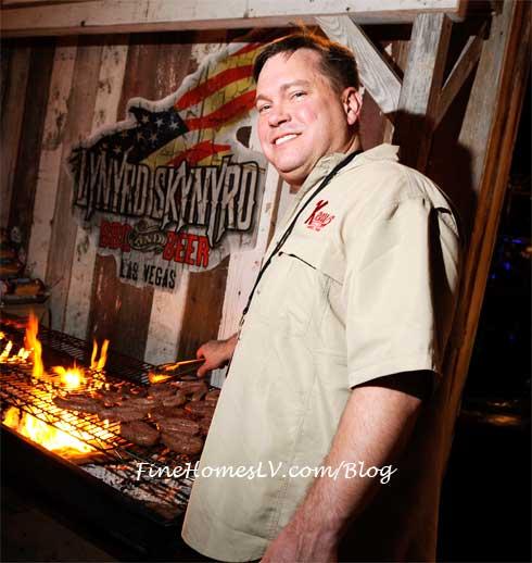 Keith Schmidt at Lynyrd Skynyrd BBQ & Beer