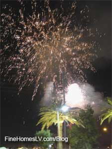 M Resort Fireworks