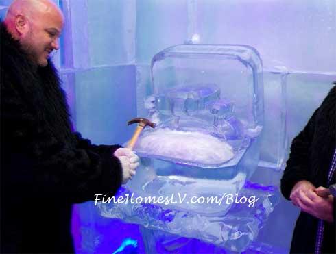 Kim Kardashian Ice Ring