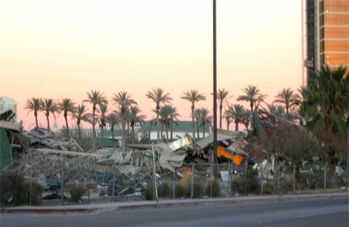 New Frontier Las Vegas Demolition