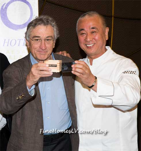 Robert De Niro and Chef Nobu Matsuhisa