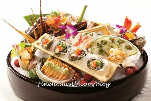 Nobu Hotel Sashimi Platter