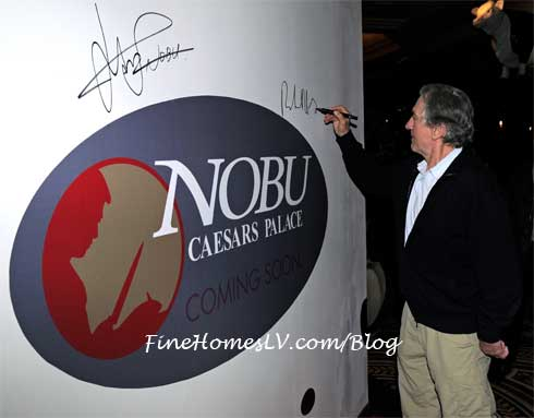 Robert De Niro at Nobu Hotel