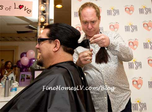 Penn and Teller at Locks of Love