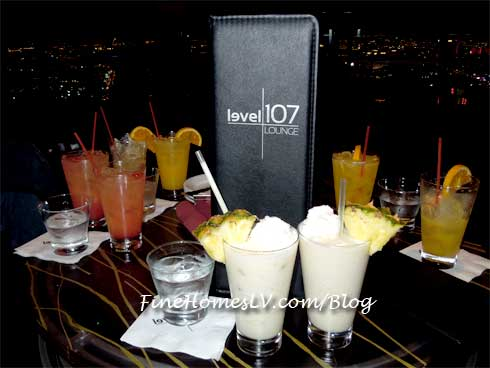 Level 107 Lounge at The Stratosphere