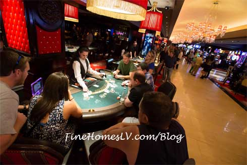 The Cromwell Blackjack Tables