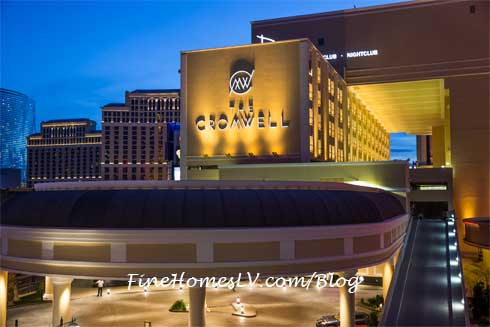 The Cromwell Las Vegas Night Photo