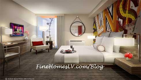 The LINQ Hotel Las Vegas Guestroom