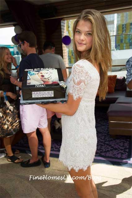 Nina Agdal Birthday Cake