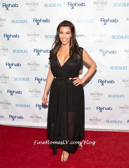 Kim Kardashian at REHAB