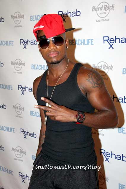 Ne Yo at REHAB