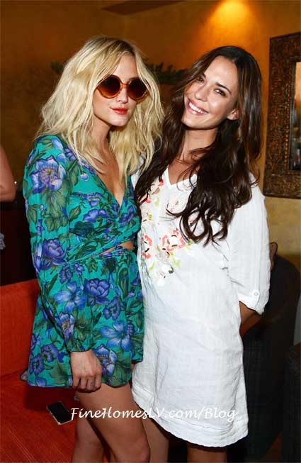 Ashlee Simpson and Odette Annable