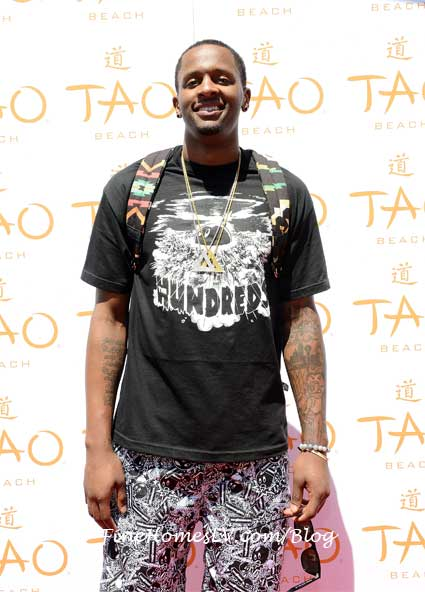 CJ Miles at TAO Beach